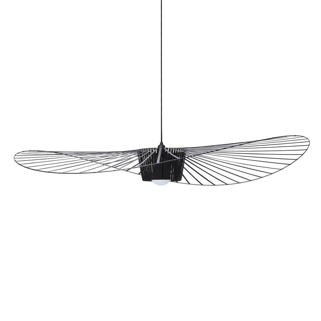 petite friture lampa wisz ca vertigo czarna 200cm. Black Bedroom Furniture Sets. Home Design Ideas